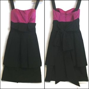 BCBG Pink Corset Dress